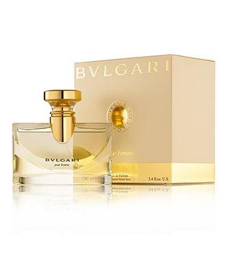 BVLGARI pour Femme Eau de Parfum.I am so obsessed with this !