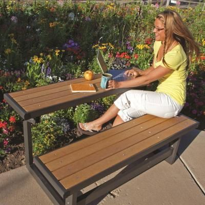 Lifetime Convertible Patio Bench