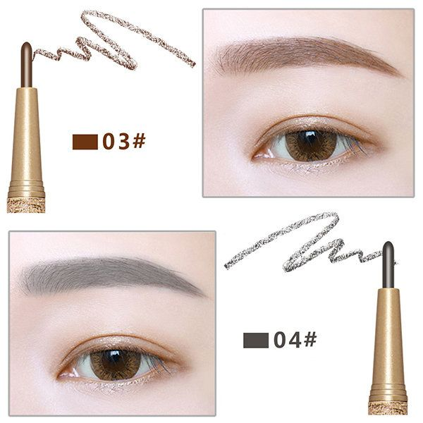 Novo Waterproof Eye Brow Eyebrow Pen Pencil With Brush Makeup Cosmetics Tools