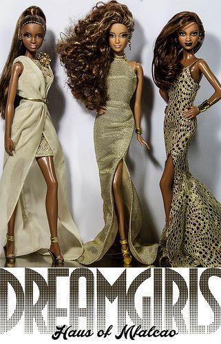 (via DREAMGIRLS   Flickr - Photo Sharing!   Fashion Doll Island   Pinterest)