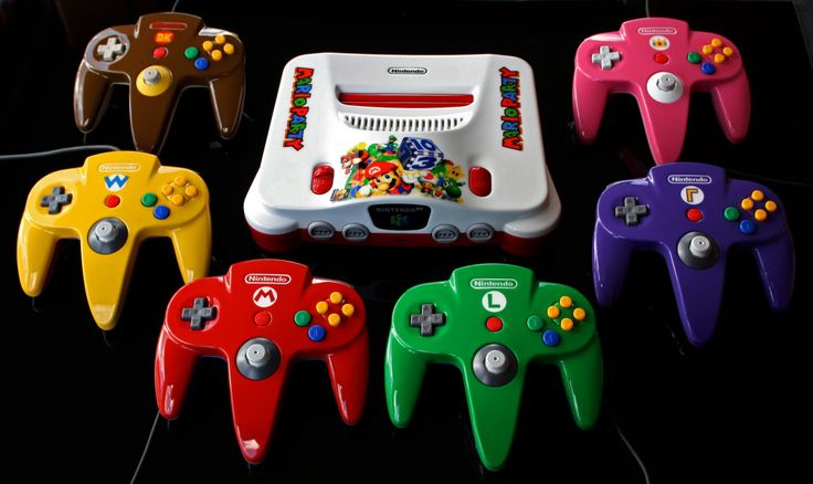 Custom Mario Party N64 Set Created by Zoki64 ||... | it8Bit
