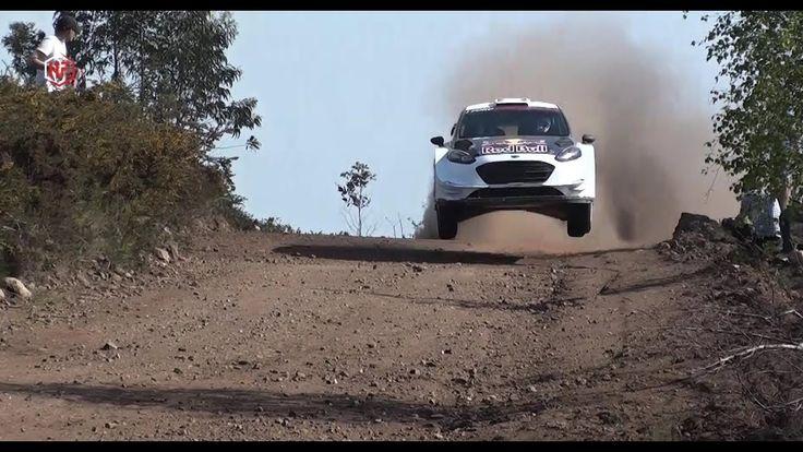 Teemu Suninen - Testes WRC Ford   Rally de Portugal 2018 - Sapardos  - V...
