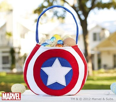 48 best easter ideas images on pinterest easter food easter ideas captain americas indestructible shield was the inspiration for this mighty treat bag kids can safeguard easter eggs halloween treats or small items such negle Choice Image