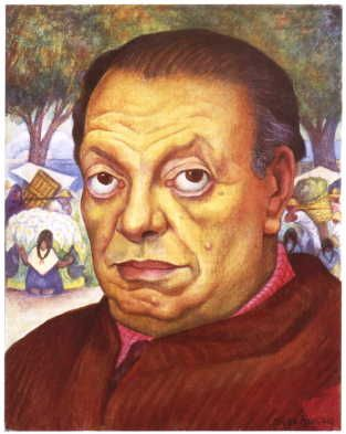 Diego Rivera-Self Portrait