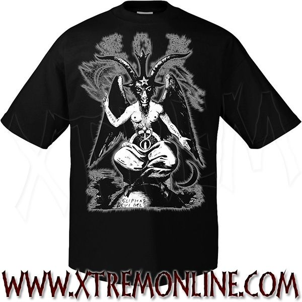 Camiseta de manga corta #Baphomet.