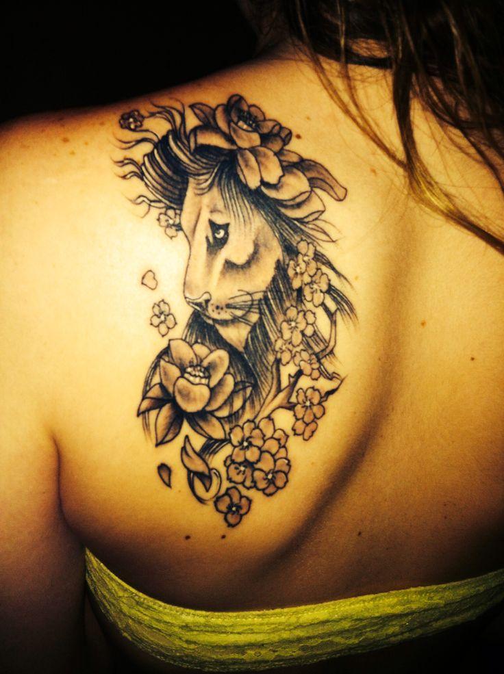leo tattoo. atomic tattoo