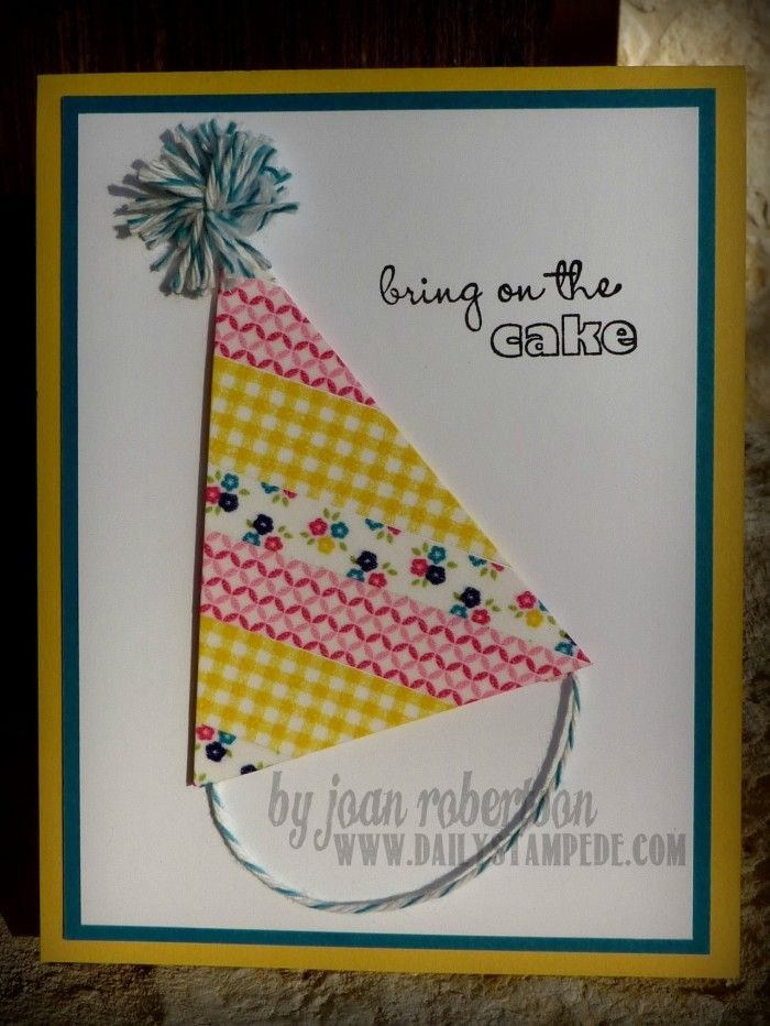 25 Best Ideas About Easy Birthday Cards On Pinterest