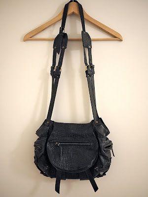 The empty dressing Petite Bohème: Twee bag JEROME Dreyfuss (Sold)