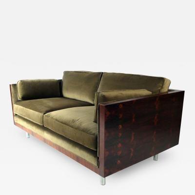 Settee Designed by Milo Baughman by Milo  Baughman