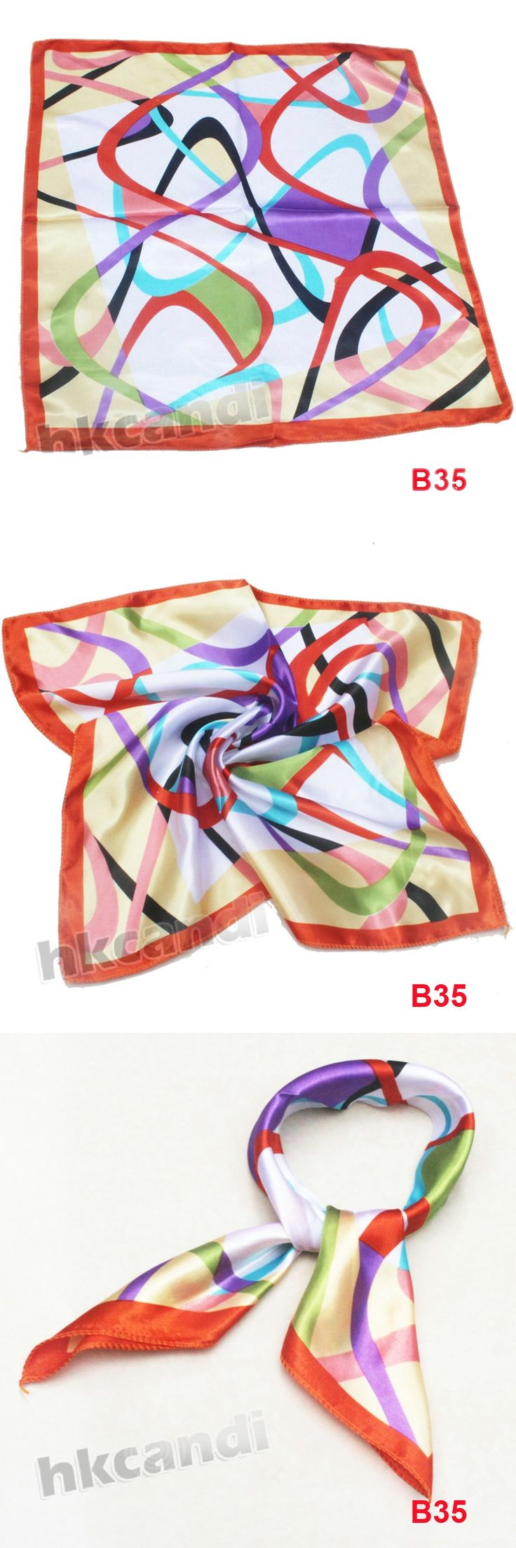 2017 fashion women's chiffon scarves new arrival Autumn casual wraps charpe silk scarf ladies 50cm