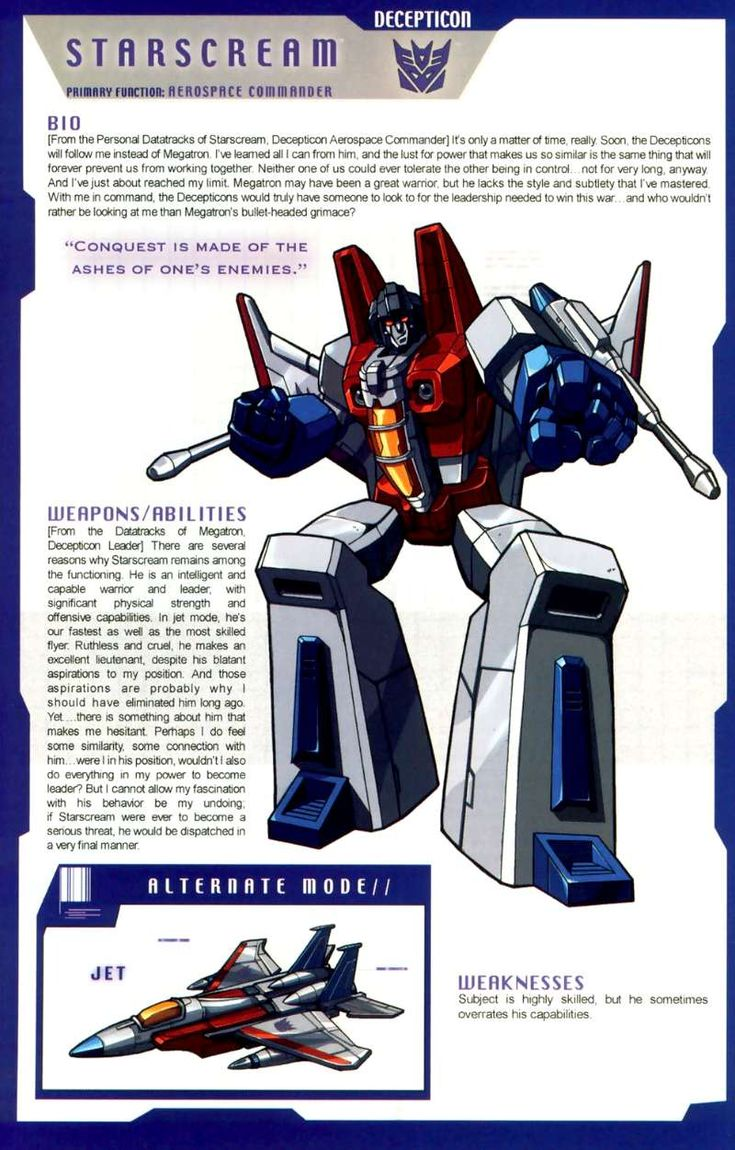 Transformers Universe - Gallery: G1 Starscream