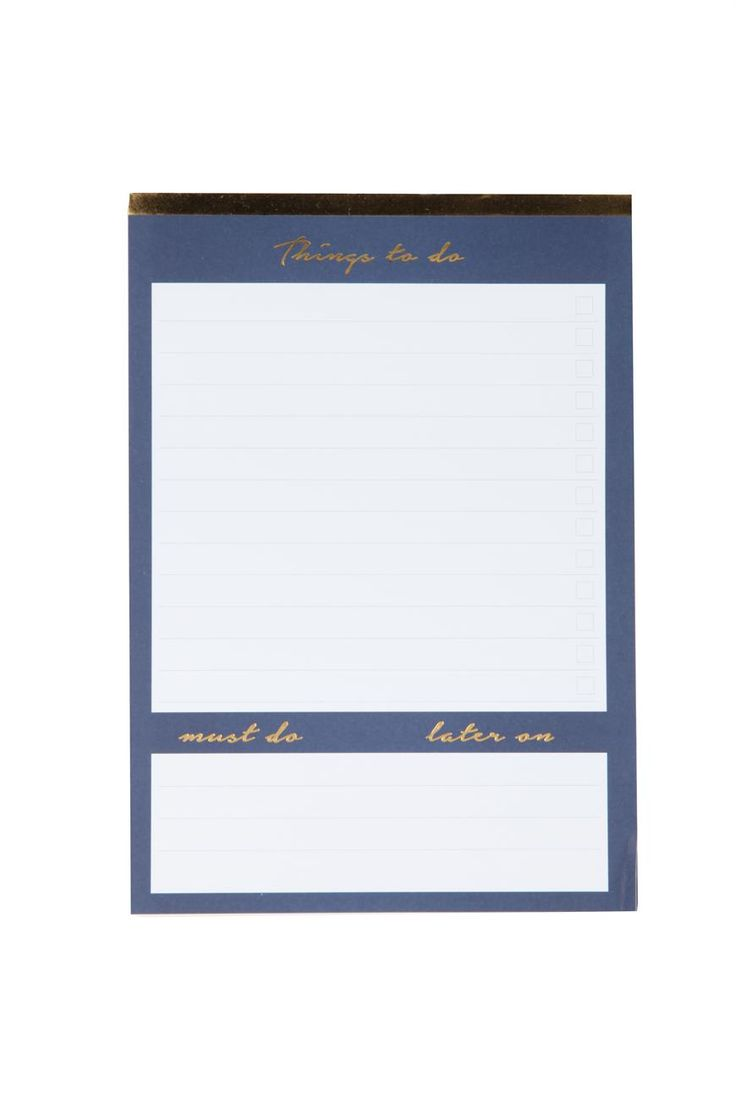 Plan and prioritise your busy schedule! This A5 planner has different sections for you to fill out, so you can be super productive with your time. These planners come in range of designs. Makes planning your week such a breeze!  60 tear off sheets, Measures:  14.8cm x 21cm