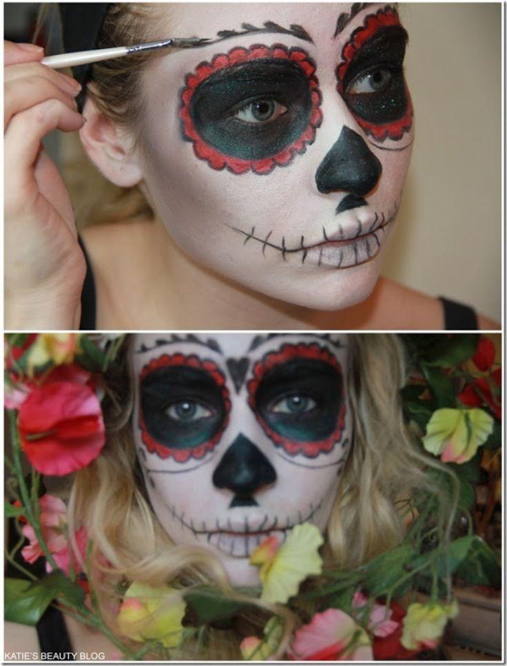 top 10 diy creative diy halloween makeup - Mexican Halloween Mask