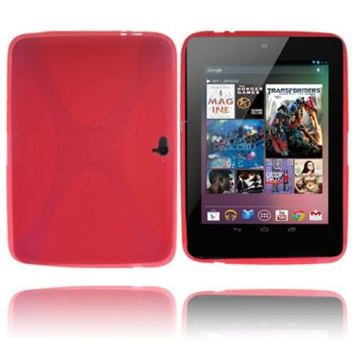 X-line (Rød) Google Nexus 10 Deksel