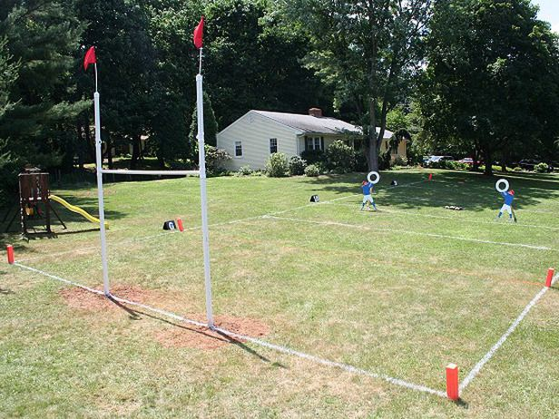 Build a backyard football field!