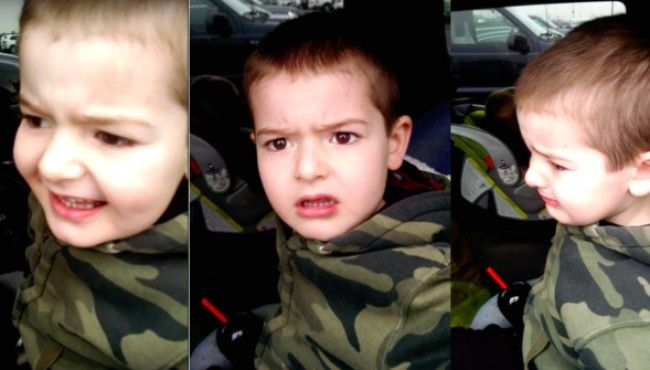 Upset over not going to the Broccoli Farm #adorable #funnykids #aww #cute