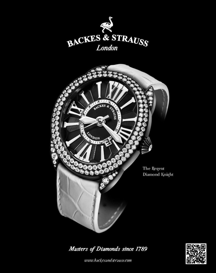 Discover the Regent Diamond Knight Collection - For more information, visit www.backesandstrauss.com