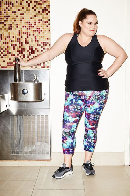 25 best work it out for the plus size girl images on pinterest plus size activewear cute gym clothes sciox Images