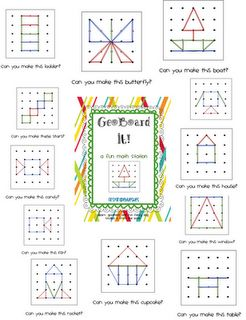 Aligns with K and1st grade Common Core Geometry standards