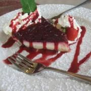 Pretty much the *only* motivation required to GO to PEI! :D PEI Preserve Co.'s Infamous Raspberry Cream Cheese Pie