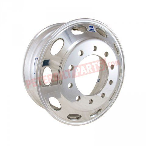 886671ALU Wheel-aluminum, Peterbilt Stylized | Aluminum Wheels | Alcoa Wheels | Peterbilt Parts