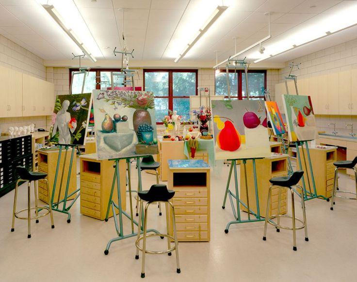 65+ Idéias de design de estúdio de arte impressionantes para espaços pequenos / FresHOUZ.com   – Art_Studio