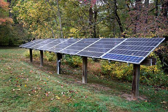 Basic Solar Panel Pole Mount System