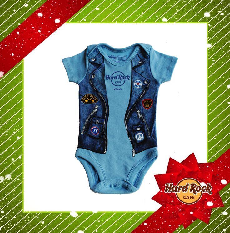 #Natale 2014: HRC #Boys #Infant #Onesie #Blue #HardRock4Xmas #gift #kid