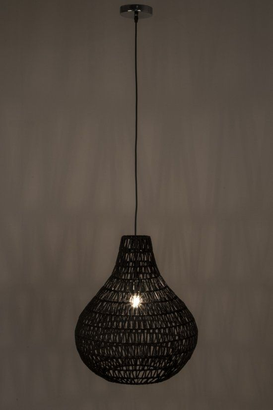 Zuiver Cable drop - Hanglamp - zwart EUR 99,00 bol.com
