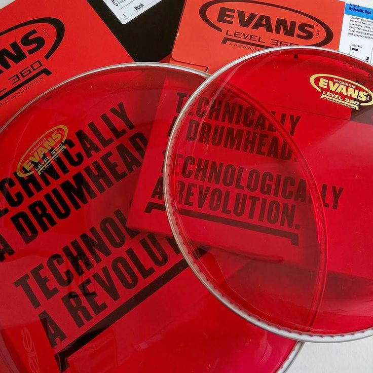 Evans Hydraulic Red drum heads NICE! #evansdrumheads #evanshydraulic #drumskin #drumhead #evans #drum #drumkit #sheffieldmusicscene #sheffield #rotherham #drumporn #drumlove #drumlife #yesplease #instadaily by rockemmusic