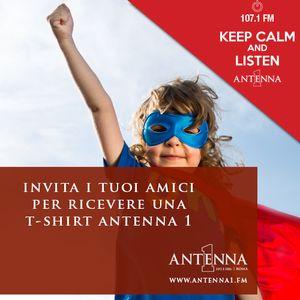 Invita 3 amici per ricevere una T-shirt Antenna 1