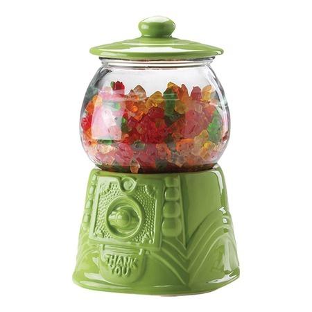 Soda Shop Gumball Jar