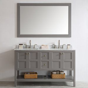 60 Inch Bathroom Vanities You'll Love | Wayfair