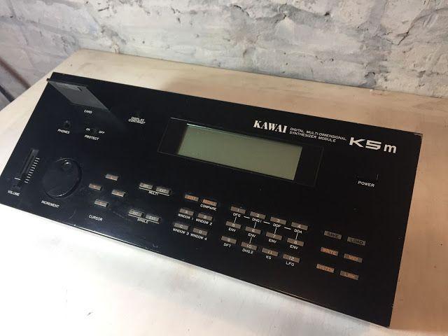 MATRIXSYNTH: Kawai K5M Rack Mount Additive Synthesizer w/DC-8 M...