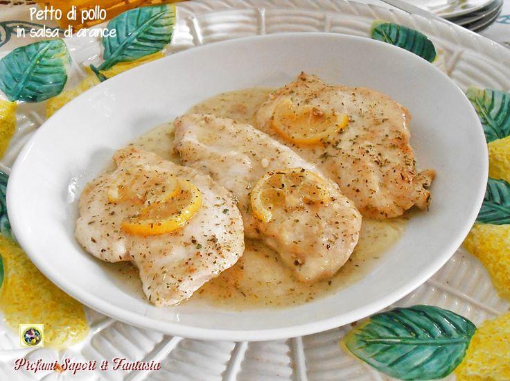 Ilpetto di pollo in salsa di arance,è un secondo di carne veloce e facile da preparare. Bastano pochissimi ingredienti per trasformare ilpetto di pollo, così pallido e insapore, in una pietanza profumata e appetitosa.