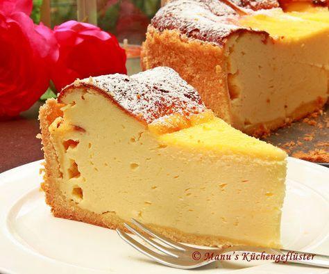 Manus Küchengeflüster: cremiger Käsekuchen