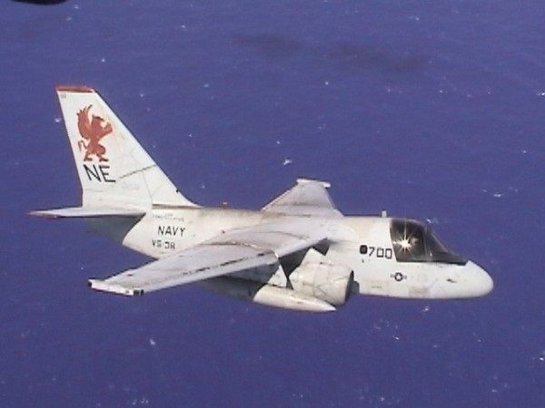 "VS-38 Antisubmarine Warfare Lockheed S3-A Viking, ""The Red Griffins"". My favorite squadron that I served with in 1980s."