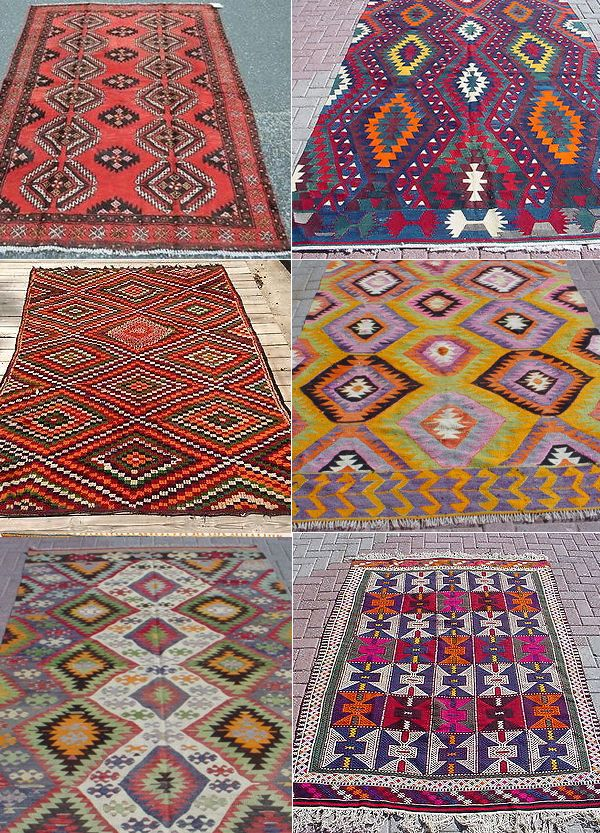 or, if you want a rug with more pop, a vintage kilim or Navajo would be amazing
