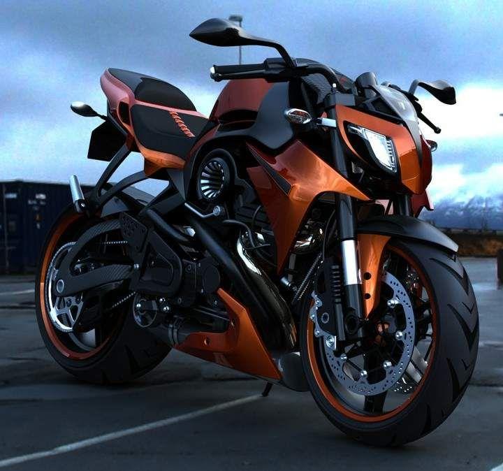 Moto ARAC ZXS Street Fighter design agressivo