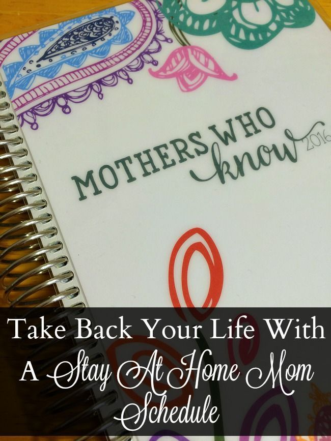Take Back Your Life With A Stay At Home Mom Schedule >>> >>> >>> >>> We love this at Little Mashies headquarters littlemashies.com