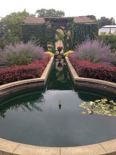 Captivating Garden At The Paine Art Center. Oshkosh, WI.