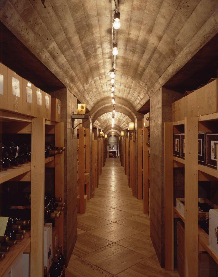 Natural Stone Wine Cellar