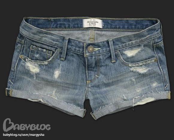 Как сделать джинсовые шорты потертыми