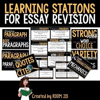 revision techniques essays If your essays are good but not great, using these tips and techniques will help take your writing to the next level.