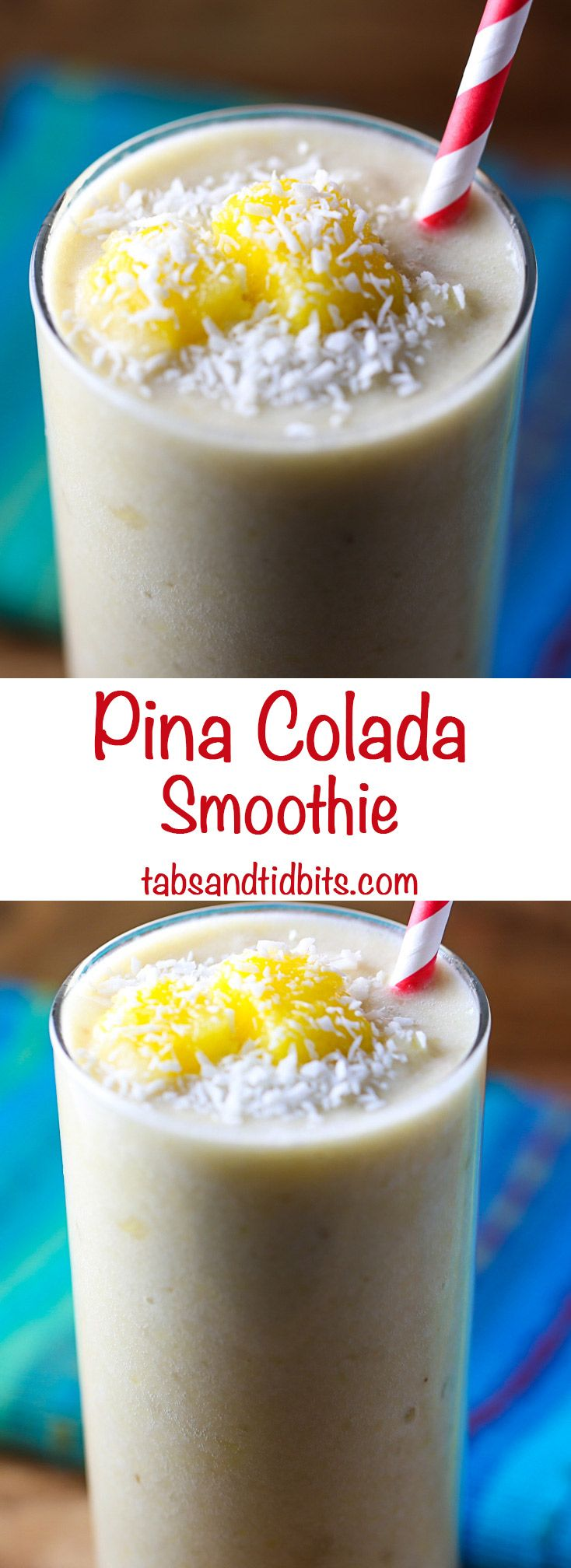 Pina Colada Smoothie Recipe Healthy fruit smoothies