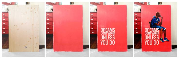 """""""dreams don'twork unless you do"""" :)"""