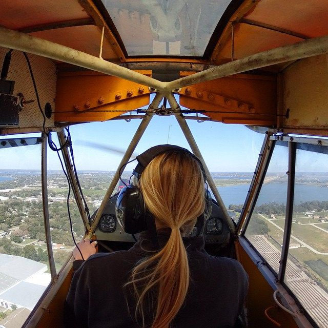 https://flic.kr/p/q3xAQu | The view from inside a vintage J-3 Piper Cub #aircraft #avgeek #florida #pilotsofinstagram #SonyActionCam #pureflorida #learntofly #TeamActionCam #projectweather #aviation | Compliments of Jack Browns Seaplane Base. instagram.com/danpiraino