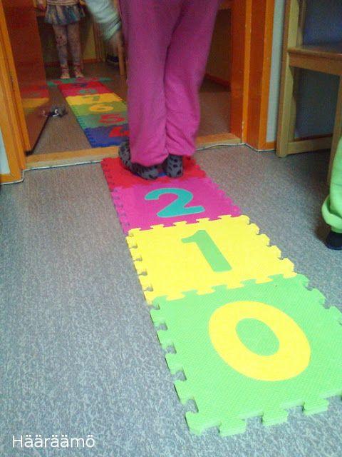 Temppurata: lukumäärien, numerosymboleiden ja lukujonotaitojen harjoittelua toiminnallisesti esiopetuksessa
