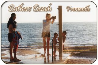 Bathers Beach Bathers Bay is a perfect city beach with the Round House, The Fishing Boat Harbour, Challenger Harbour, The Maritime Museum, The Shipwreck Galleries and Esplanade Park all within a short stroll, it's easy to see why Bather's Beach is one of Fremantle's favorite local beaches!