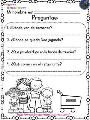 Lecturas comprensivas para Primaria Noa y Hugo 2 (3) - Imagenes Educativas